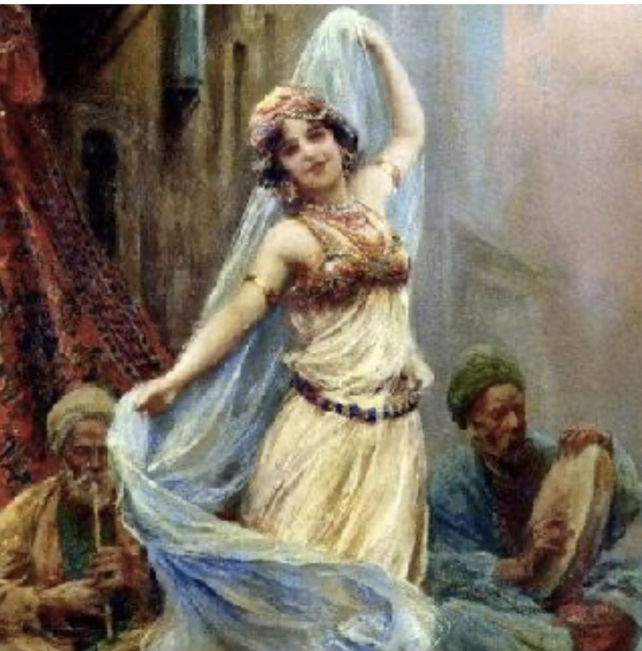 Oriental dance or baladi